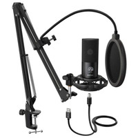 FIFINE T669 USB CONDENSER MICROPHONE FOR RECORDING ASMR PODCAST ZOOM