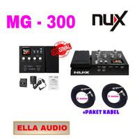 nux mg 300 multi efek gitar