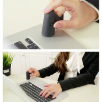 Portable Mini Wireless USB Finger Ring Mouse Optical 2.4GHz