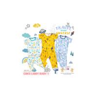 CBKS LIBBY BABY 1 setelan Atasan Pendek + Celana Panjang