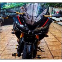 AKSESORIS MOTOR GP 2777 WINGLET R15 V3 BAHAN PLASTIK ABS WINGLET