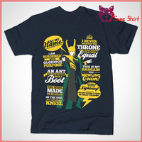 Kaos QUOTES OF A MISCHIEF GOD Loki Comics Supervillain Thor T-Shirt