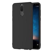 Soft Case Blackmatte Huawei Nova 2i Casing Silikon Slim Black Matte Hi