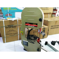 band saw wipro jdd 200 mesin gergaji bandsaw jdd200 tebal potong 80mm