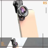 APEXEL Lensa Kamera Smartphone Universal Clip 170 Wide Angle Lens
