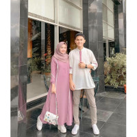 Baju Couple Muslimah Farzana Set best