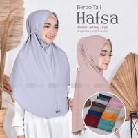 ALZ - Hijab Kerudung Jilbab Instant Bergo Tali Hafsa Jersey Zoya Adem