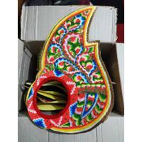 Aksesoris tari wayang / sayap Gatot kaca / badong / praba