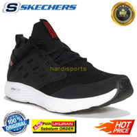 Sepatu Running Pria Skechers Horizon Lander 55242-BKW - Black ORIGINAL