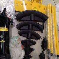 pipa 1/2 - 2 alat tekuk pipa manual hydrolik mesin tekuk