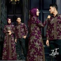 Baju Couple Batik Peria Wanita Muslim Terbaru Pakaian Couple Original