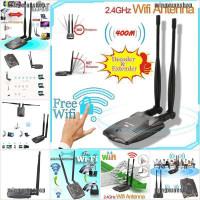 ☀❉ Password Cracking Internet Long Range Dual Wifi Antenna USB