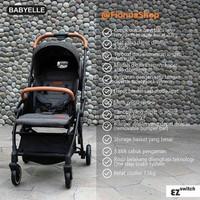 Stroller Baby Elle Kereta Bayi BabyElle S523 RS Ez Switch Bisa Hadap