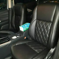 Dijual sarung jok mobil Toyota Avanza Veloz bantal leher Limited