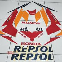 STRIPING LIS AS4SL01 Honda New CBR 150 R Led Repsol 2018 2019