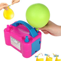 Party Zealot Electric Balloon Inflator with 00 Balloon Ties Air Pump