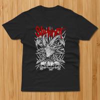 Baju Kaos SLIPKNOT T shirt Heavy Metal Band Tee Adult M 2 XL Black New