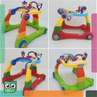 BABY ELLE WALKER 2in1 MULTIFUNGSI DESIGN KOKOH - BABY WALKER ALAT