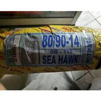 BAN LUAR SWALLOW 809014 SEAHAWK BUAT MOTOR METIC NON TUBELESS