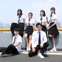 Athletic pertemuan kelas jas musim gugur baju seragam sekolah Korea