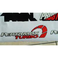 Sale Sticker cutting - stiker Pertamax Turbo pertamina stiker motor
