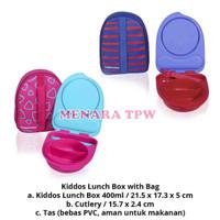 TUPPERWARE Kiddos Lunch Box Free Bag 1set