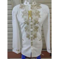 Koko Baju Salafy Jasko Jas Bordir Koko Jasko Fashion Jasko Putih