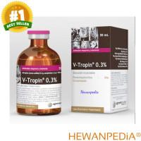 V TROPIN 0.3% 50 ml - Atropin Hewan Sapi Anjing Kucing Kambing