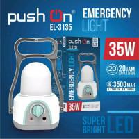Lampu Emergency Lentera Emergency 35 watt PUSH ON EL3135