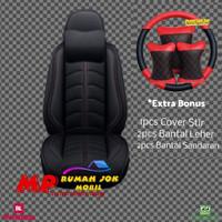 Sarung jok cover Jok mobil APN Leather Avanza Wuling Ertiga Rush Murah