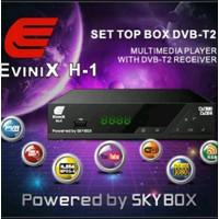 Dijual TV DIGITAL set top box skybox H1 pakai antena UHF biasa Murah