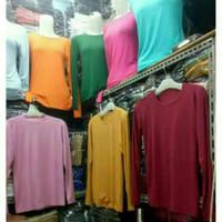 KAHFI REALPICT Manset Jumbo XXL - XXXL Rayon Super Atasan Baju Kaos Pr