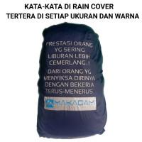 rain cover penutup tas daypack carrier waterproof makadam 30l 45l 60l