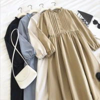 KAHFI LUCY LONGTUNIK Bahan Katun Rayon BUSUI Pakaian Wanita Atasan Mus