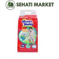 HAPPY NAPPY L48 Popok Celana Bayi L48 L 48