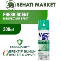 WIZ24 DISINFECTANT SPRAY FRESH SCENT 300ml