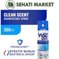 WIZ24 DISINFECTANT SPRAY CLEAN SCENT 300ml