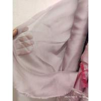 Kain Sifon Sutra 100% Pure Chiffon Silk One Tone / Two tone