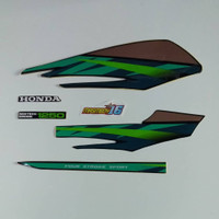 hijau Striping honda 97 GL 1997 MAX GL PRO