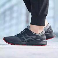 Sepatu Running Asics Roadhawk FF Black Carbon Original