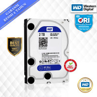 WD Blue PC 2TB HDD/ HD/ Hardisk/ Harddisk Internal 3.5 - Azkannai