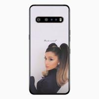 Casing LG V60 ThinQ Ariana Grande Thank u Next P2688