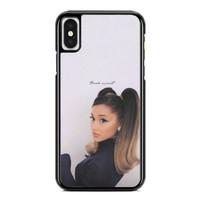Casing iPhone XS Max Ariana Grande Thank u Next P2688