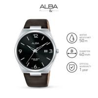 Jam Tangan Pria Alba PRESTIGE Quartz Leather AS9H89 Original
