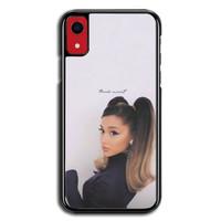 Casing iPhone XR Ariana Grande Thank u Next P2688