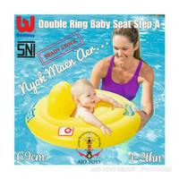 TERMURAH Pelampung Bestway Double Ring Baby Seat Step A Float Ban Bayi
