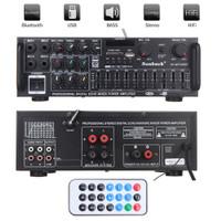 PROMOSI Power Amplifier Karaoke Home Theater FM Radio 2000W Sunbuck Pr