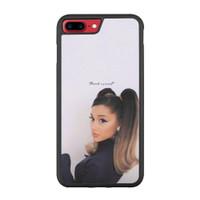Casing iPhone 7 Plus Ariana Grande Thank u Next P2688
