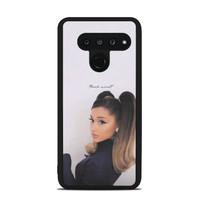 Case Custom LG V50 ThinQ Ariana Grande Thank u Next P2688