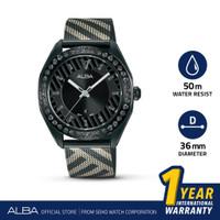 Jam Tangan Wanita Alba Signa Quartz Stainless Steel AH7W69 Original